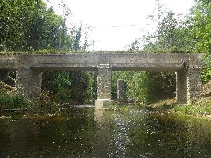 Inspections détaillées des ponts du canal des Trablettes