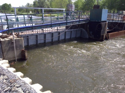 Réhabilitation du barrage de Soustons