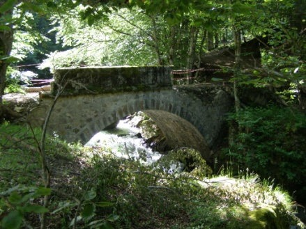Réparation du pont du Bisp