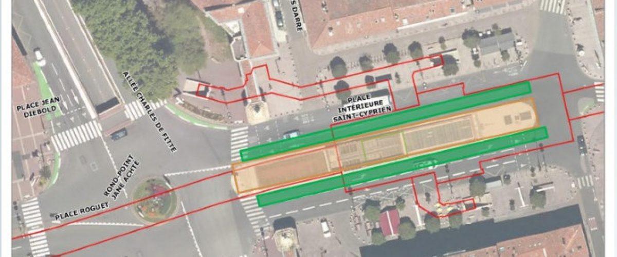 Conditions de passage pour la station « St Cyprien »
